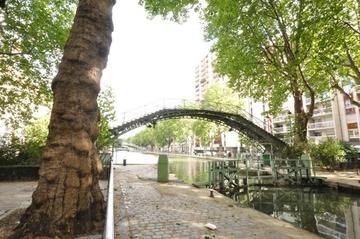 ぶらりと散歩も楽しいサンマルタン運河