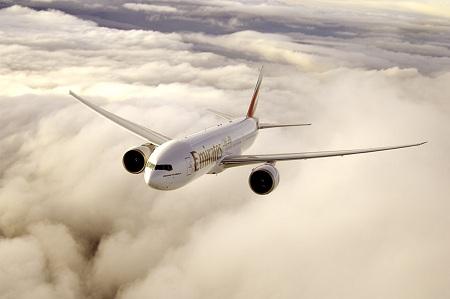 エミレーツ航空機影/イメージ