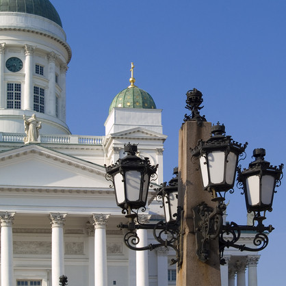 ヘルシンキ・街灯