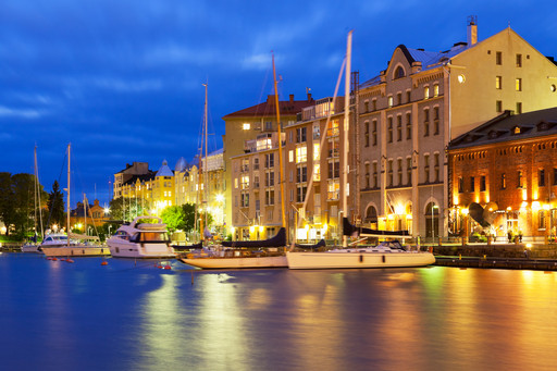 ヘルシンキ・港