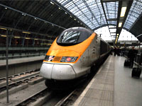 ヨーロッパの列車:ユーロスター