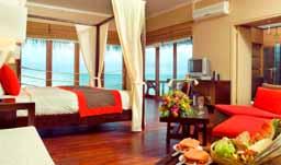 【関空発着】♪お手頃価格のオールインクルーシブリゾート♪アダーラン・プレステージ・オーシャンヴィラズ【水上バンガロー】 シンガポール航空利用 6日間