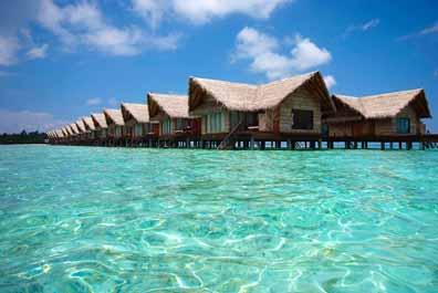 ♪お手頃価格のオールインクルーシブリゾート♪アダーラン・プレステージ・オーシャンヴィラズ【水上バンガロー】 スリランカ航空利用 6日間