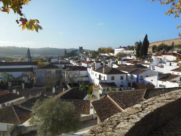 オビドスの街の風景